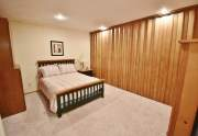 Bedroom 1 - accordion wall separates from bedroom 2