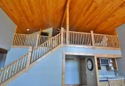 Custom woodwork throughout home