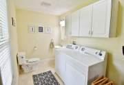 Laundry and half bath