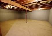 Storage in second basement