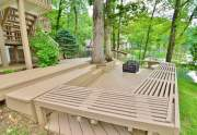 Decking with Fire Pit
