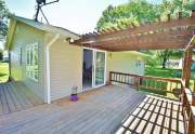 Deck with attached pergola