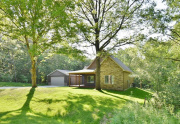 Wooded location, detached garage