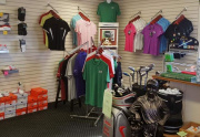 Well-stocked Pro Shop