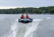Boating, Fishing and Swimming Are Among Oak Run's Amenities