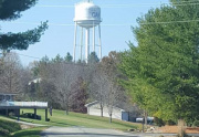 View of Oak Run's Water Tower